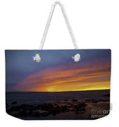 Falling Away Weekender Tote Bag