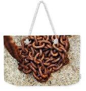 Falling Chain Weekender Tote Bag