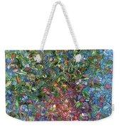 Falling Flowers Weekender Tote Bag