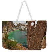 Falling Into The Bay Weekender Tote Bag