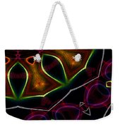 Falling Into The Sun Weekender Tote Bag