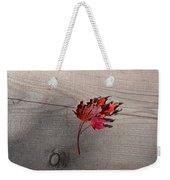 Falling Leaf Weekender Tote Bag