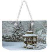 Falling Snow - Winter Landscape Weekender Tote Bag