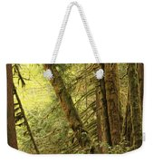 Falling Trees In The Rainforest Weekender Tote Bag