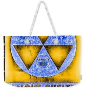 Fallout Shelter Wall 3 Weekender Tote Bag