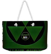 Fallout Shelter Wall 4 Weekender Tote Bag