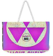Fallout Shelter Wall 6 Weekender Tote Bag