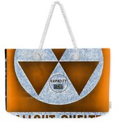 Fallout Shelter Wall 8 Weekender Tote Bag