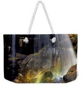 Falls And Rainbow Weekender Tote Bag