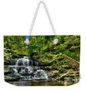 Falls And Steps Weekender Tote Bag
