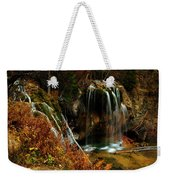 Falls At Hanging Lake Weekender Tote Bag