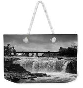 Falls Of The Big Sioux Weekender Tote Bag