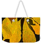 Fall's Purest Gold Weekender Tote Bag