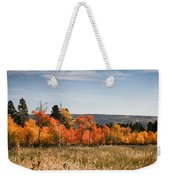 Fall's Splendor - Casper Mountain - Casper Wyoming Weekender Tote Bag