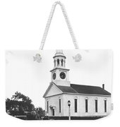Falmouth Church In Hyannis Weekender Tote Bag