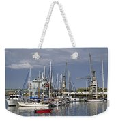 Falmouth Harbour And Docks Weekender Tote Bag