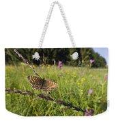 False Heath Fritillary In Meadow Bavaria Weekender Tote Bag