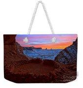 False Kiva Sunset Weekender Tote Bag