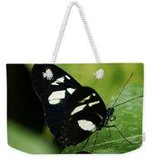 False Zebra Longwing Butterfly Weekender Tote Bag