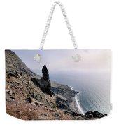 Famara Cliffs On Lanzarote Weekender Tote Bag