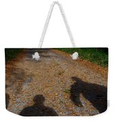 Familiar Shadows Weekender Tote Bag