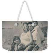 Family Beach Day Weekender Tote Bag