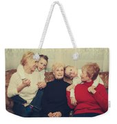 Family Weekender Tote Bag by Laurie Search