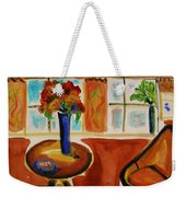 Family Room Corner Weekender Tote Bag