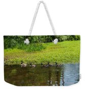 Family Swim Weekender Tote Bag