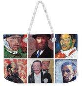 Famous Artist Self Portraits Weekender Tote Bag