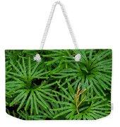 Fan Club Moss Foliage Weekender Tote Bag