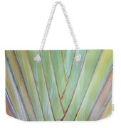 Fan Palm Abstract 2 Weekender Tote Bag