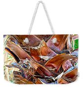Fan Palm Trunk In Andreas Canyon In Indian Canyons-ca Weekender Tote Bag