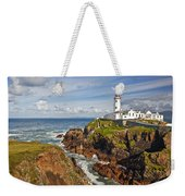 Fanad Lighthouse Donegal Ireland Weekender Tote Bag
