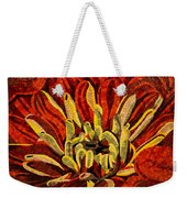 Fanciful Bold Floral Mosaic Weekender Tote Bag