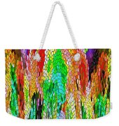 Fanciful Colors  Abstract Mosaic Weekender Tote Bag