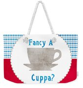 Fancy A Cup Weekender Tote Bag