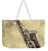 Fancy Antique Saxophone In Pastel Weekender Tote Bag