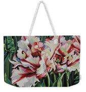 Fancy Parrot Tulips Weekender Tote Bag