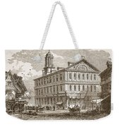Faneuil Hall, Boston, Which Webster Weekender Tote Bag