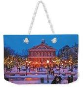 Faneuil Hall Holiday- Boston Weekender Tote Bag