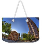 Faneuil Hall Square Weekender Tote Bag by Joann Vitali