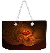 Fanfare Orange Weekender Tote Bag