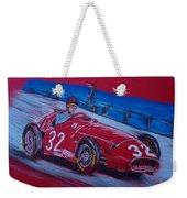 Fangio At Monaco 57 Weekender Tote Bag