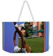 Fantasia Mickey And Broom Floral Walt Disney World Hollywood Studios Weekender Tote Bag