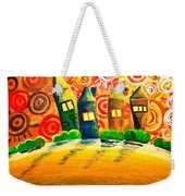 Fantasy Art - The Village Festival Weekender Tote Bag