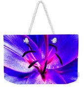 Fantasy Flower 9 Weekender Tote Bag