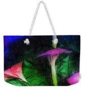 Fantasy Flowers Lux Weekender Tote Bag