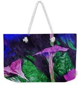 Fantasy Flowers Watercolor 2 Hp Weekender Tote Bag