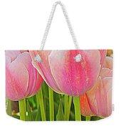 Fantasy In Pink - Tulips Weekender Tote Bag